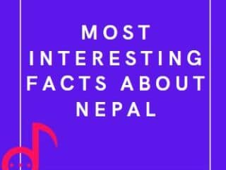 most interesting facts about nepal