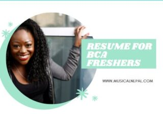 Download Resume for BCA Freshers