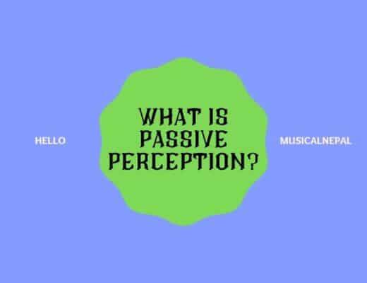 what is passive perception 5e?